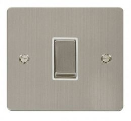 Scolmore Click Define FPSS411WH Ingot 10AX 1 Gang 2 Way Switch - White