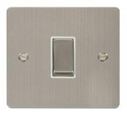 Scolmore Click Define FPSS425WH Ingot 10AX 1 Gang Intermediate Switch - White