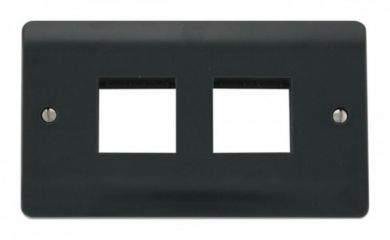 CMA404AG 2 Gang Plate 2 x 2 Aperture