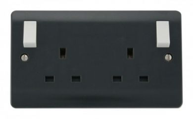 CMA836AG 13A 2 Gang DP (O/B) Switched Socket Outlet