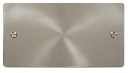 Scolmore Click Define FPBS061 2 Gang Blank Plate