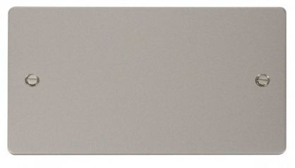 Scolmore Click Define FPPN061 2 Gang Blank Plate