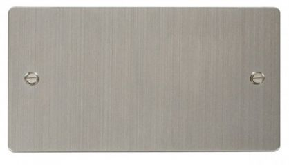 Scolmore Click Define FPSS061 2 Gang Blank Plate