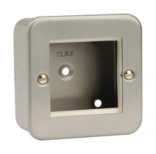 Click Metal Clad Media & Data Sockets