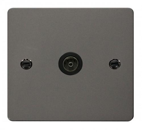 Click Define Black Nickel FPBN Media Sockets