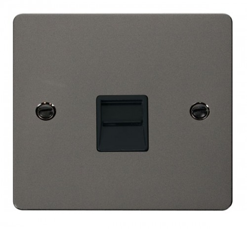 Click Define Black Nickel FPBN Data Sockets