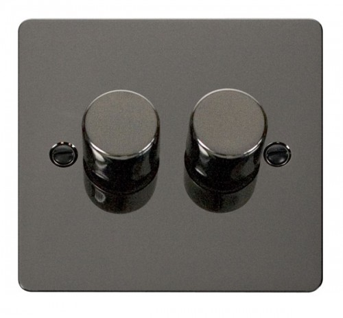 Click Define Black Nickel FPBN Dimmers