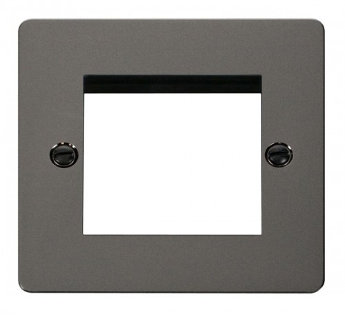 Click Define Black Nickel FPBN New Media Plates
