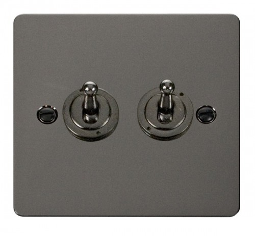 Click Define Black Nickel FPBN Toggle Switches