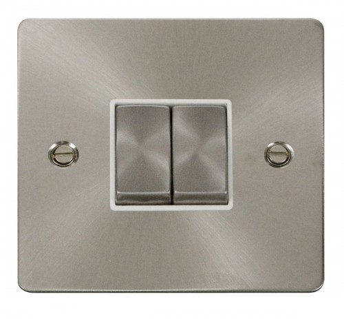 Click Define Brushed Stainless Steel FPBS Switches