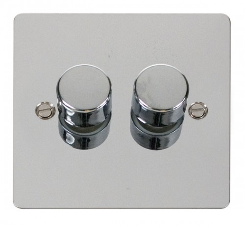 Click Define Polished Chrome FPCH Dimmers