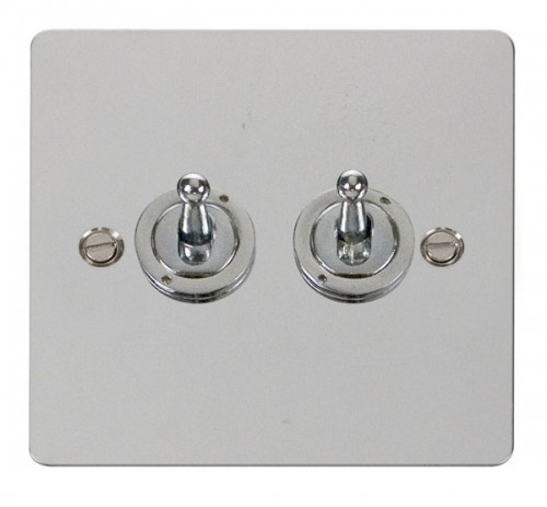 Click Define Polished Chrome FPCH Toggle Switches