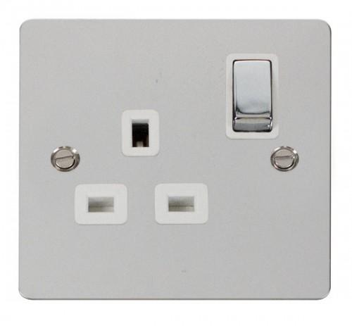 Click Define Polished Chrome FPCH Socket Outlets