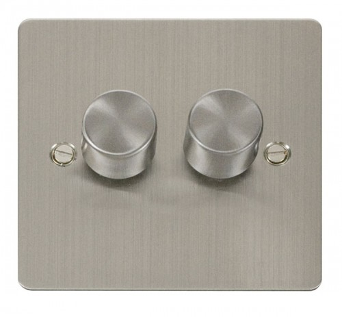 Click Define Stainless Steel FPSS Dimmers