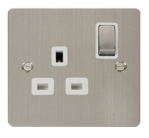 Click Define Stainless Steel FPSS Socket Outlets