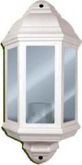 Eterna HL60WH Polycarbonate Half Lantern - White