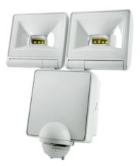 Timeguard LED200PIRWH 2 x 8 Watt LED PIR Floodlight White