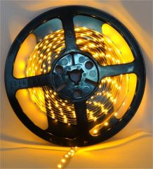Pecstar LED Tape 5m Single Colour Yellow 3528 60 LEDs Per Meter