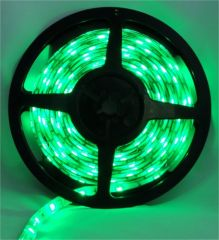 Pecstar LED Tape Single Colour 5m Green 5050 60 LEDs Per Meter Waterproof