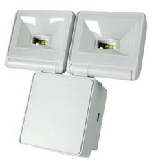 Timeguard LED200FLWH 2 x 8 Watt LED Floodlight White