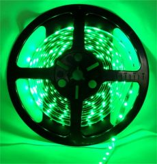 Pecstar LED Tape 5m Single Colour Green 3528 60 LEDs Per Meter