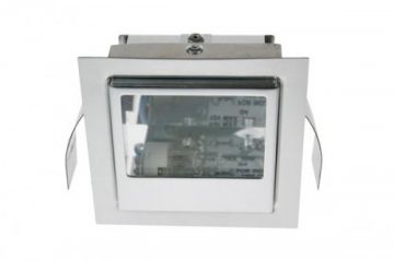 Scolmore LV170AL 12V 20W G4 Stairway Reflector Light Aluminium