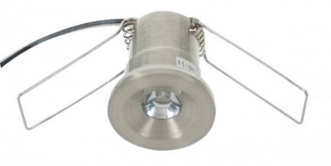 Scolmore LED200WHSC 12V LED IP44 Cast Starlight Satin Chrome