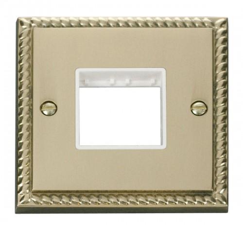 Click Deco Georgian Cast Brass GCBR Mini Grid