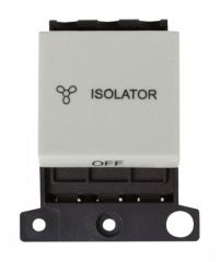 MD020WH 10A 3 Pole Fan Module Click White
