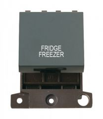 MD022BKFF 20A DP Switch Black Fridge Freezer