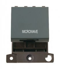 MD022BKMW 20A DP Switch Black Microwave