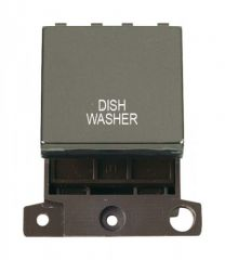 MD022BNDW 20A DP Ingot Switch Black Nickel Dishwasher