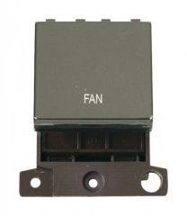 MD022BNFN 20A DP Ingot Switch Black Nickel Fan