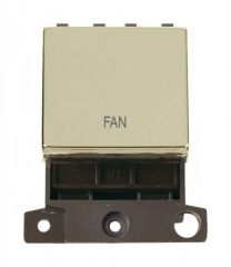 MD022BRFN 20A DP Ingot Switch Brass Fan
