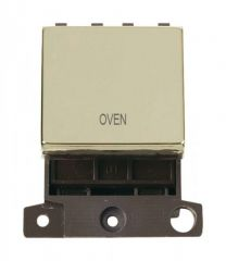 MD022BROV 20A DP Ingot Switch Brass Oven