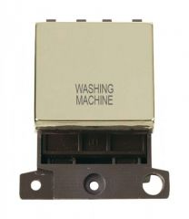 MD022BRWM 20A DP Ingot Switch Brass Washing Machine