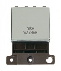 MD022CHDW 20A DP Ingot Switch Chrome Dishwasher