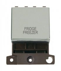 MD022CHFF 20A DP Ingot Switch Chrome Fridge Freezer