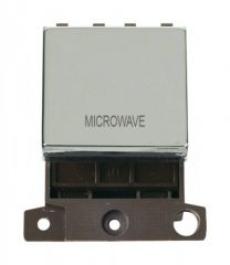 MD022CHMW 20A DP Ingot Switch Chrome Microwave