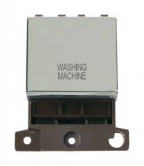 MD022CHWM 20A DP Ingot Switch Chrome Washing Machine