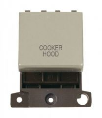 MD022PNCH 20A DP Ingot Switch Pearl Nickel Cooker Hood