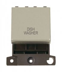 MD022PNDW 20A DP Ingot Switch Pearl Nickel Dishwasher