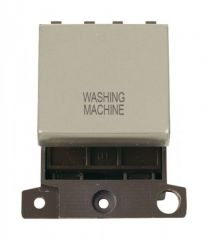 MD022PNWM 20A DP Ingot Switch Pearl Nickel Washing Machine