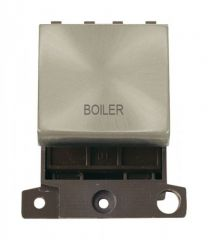 MD022SCBL 20A DP Ingot Switch Satin Chrome Boiler