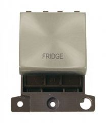 MD022SCFD 20A DP Ingot Switch Satin Chrome Fridge