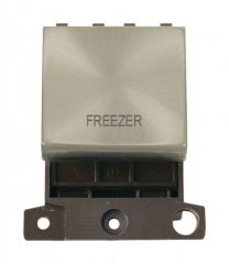 MD022SCFZ 20A DP Ingot Switch Satin Chrome Freezer