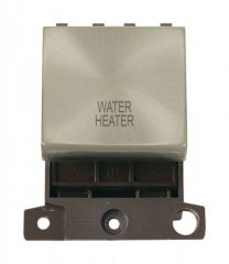 MD022SCWH 20A DP Ingot Switch Satin Chrome Water Heater