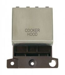 MD022SSCH 20A DP Ingot Switch Stainless Steel Cooker Hood