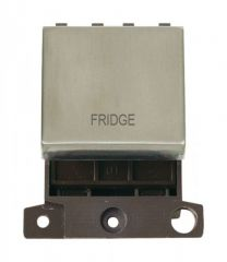 MD022SSFD 20A DP Ingot Switch Stainless Steel Fridge