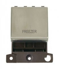 MD022SSFZ 20A DP Ingot Switch Stainless Steel Freezer